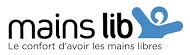 Logo Mains Lib, votre casque bien gardé