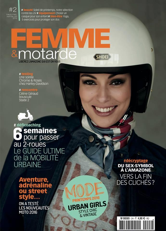 Numéro 2 - Femme et motarde jusqu'au bout des ongles