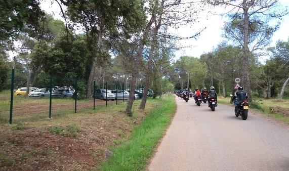 Circuit En moto sous protection