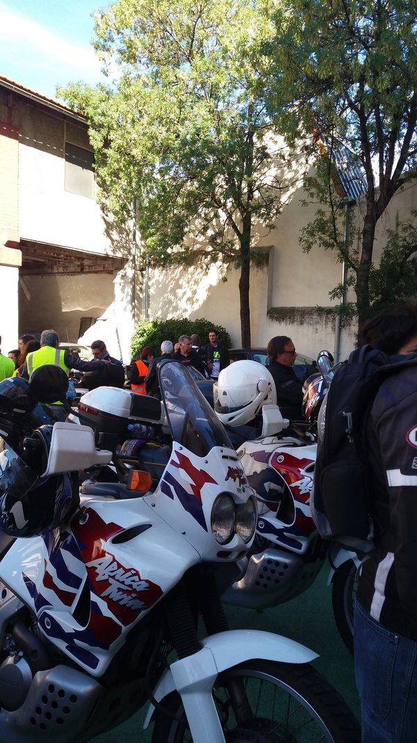 Au musée de la moto En moto sous protection