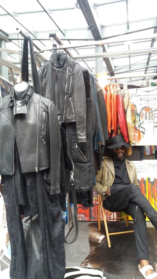 Mark Kervin au Old Spitalfields Market LONDRES NEO RETRO et BIO