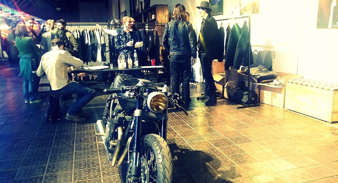 Burg and Child au festival Pure and Crafted de BMW Motorrad