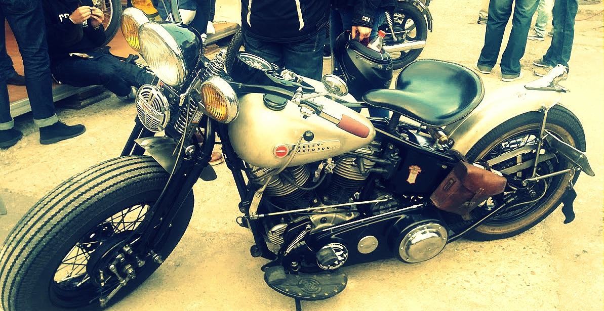Harley-Davidson au festival Pure and Crafted de BMW Motorrad