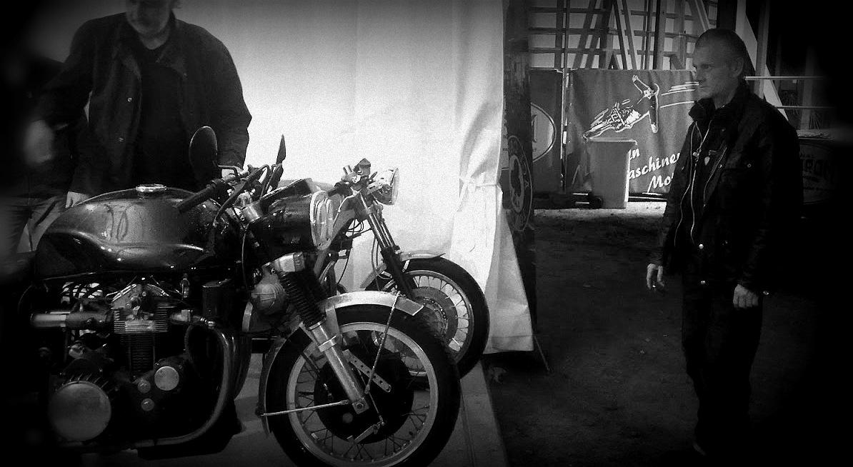 Mark Wilsmore, managing director de l'Ace Cafe et son equipe au festival PureandCrafted de BMW Motorrad - Berlin - Allemagne - 12 et 13 août 2016