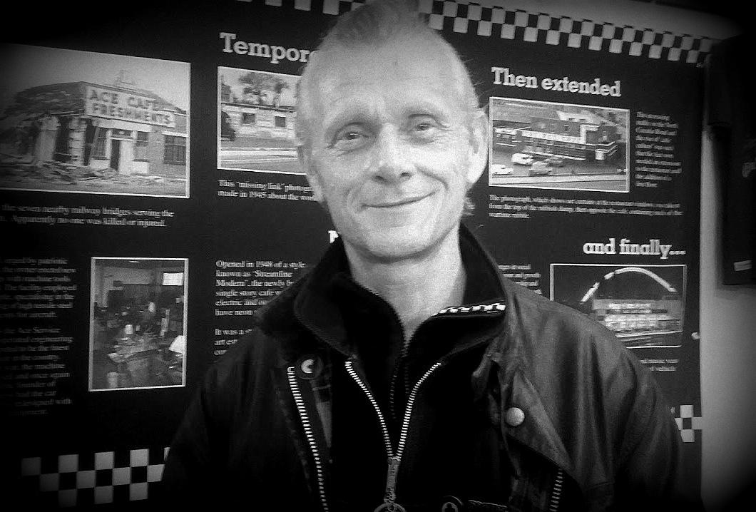Mark Wilsmore, managing director de l'Ace Cafe au festival Pure and Crafted de BMW Motorrad