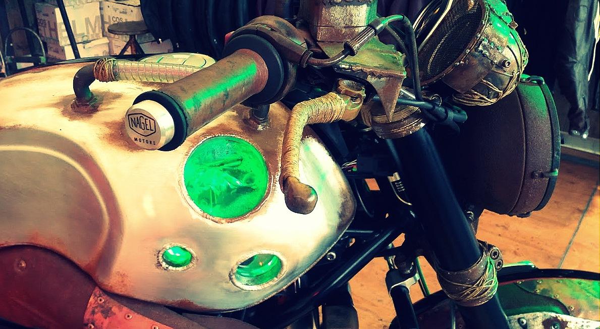 Moto a bulle de Nagel Motorau festival Pure and Crafted de BMW Motorrad