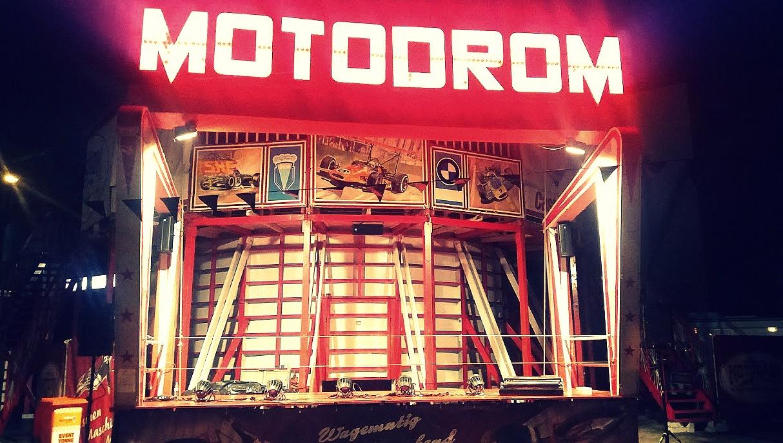 Original Motodrome au festival Pure and Crafted de BMW Motorrad