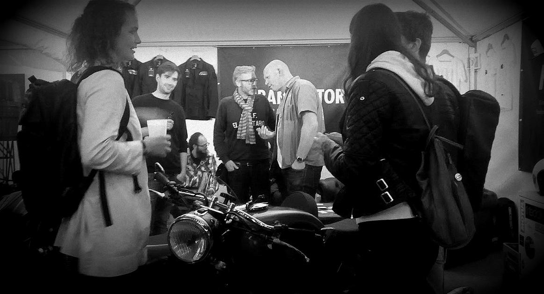 Peter d'Urban Motors au festival Pure and Crafted de BMW Motorrad