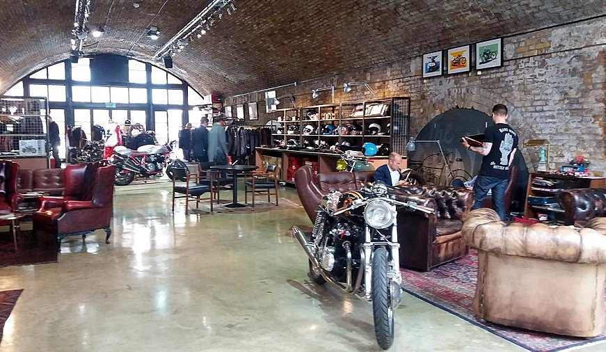 General store du Bike Shed LONDRES NEO RETRO et BIO