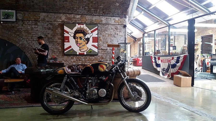 The Bike Shed and the Queen LONDRES NEO RETRO et BIO