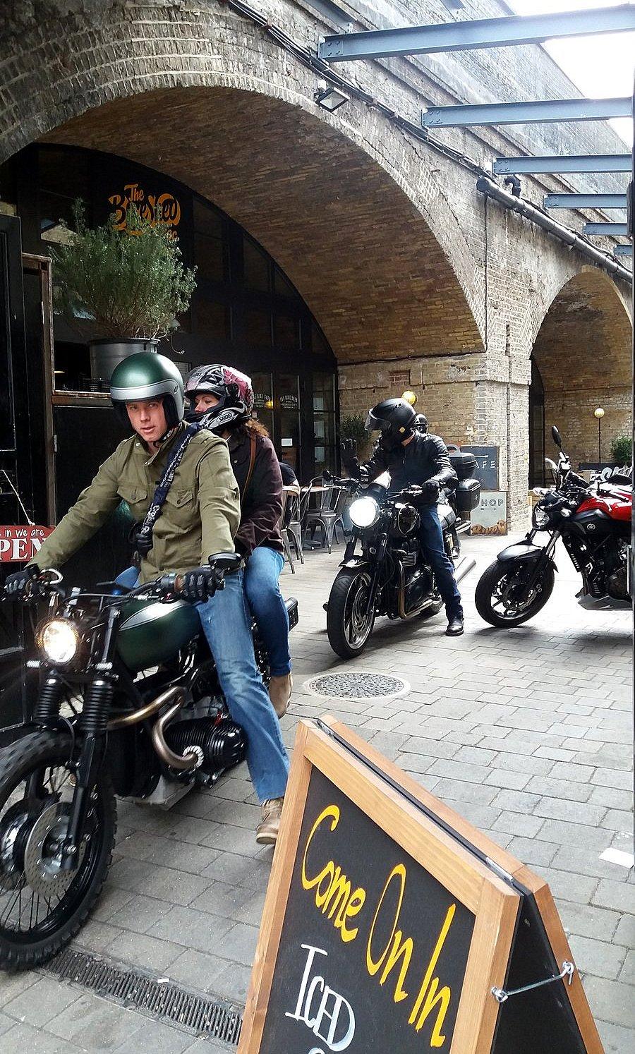 Sortie du Bike Shed LONDRES NEO RETRO et BIO