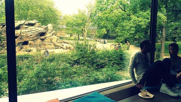 Centre commercial Bikini avec vue sur le zoo Berlin néo-rétro et bio