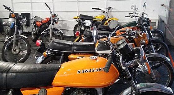 Kawasaki jaune Mondoto