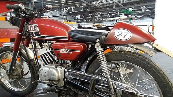 Yamaha rouge Mondoto