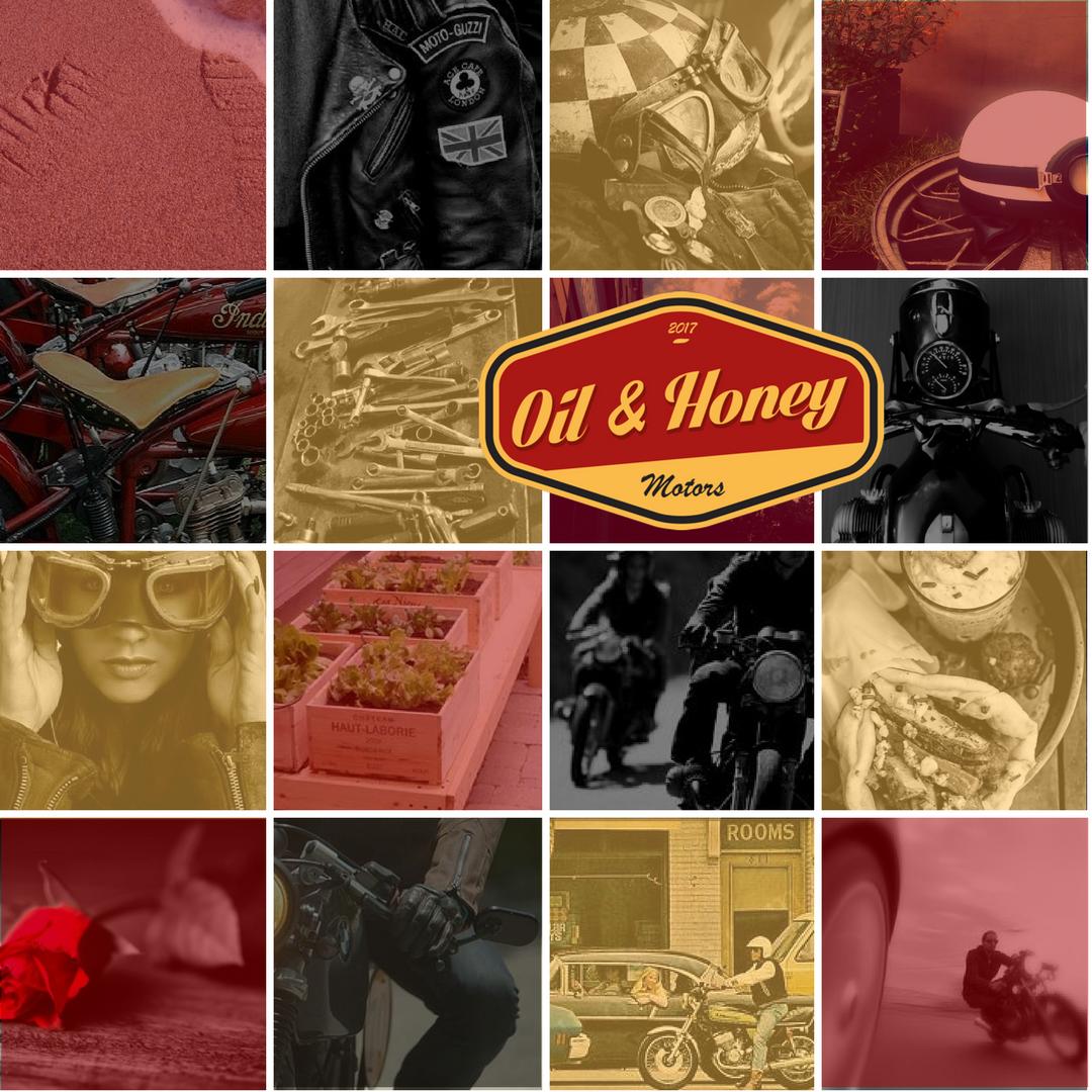 Patchwork avec logo Oil and Honey Motors