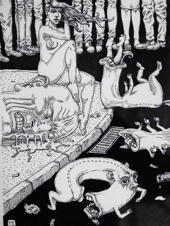 Tableau de Vincen à Mise en Scène par Fredo Slim